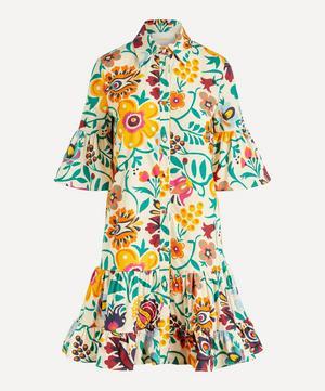 Choux Cotton-Poplin Shirt-Dress