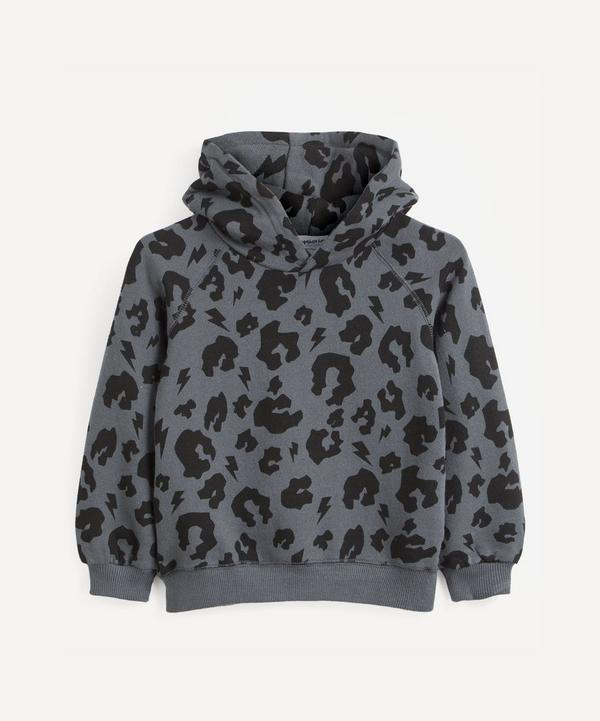 Scamp and Dude - Leopard and Lighting Bolt Hoodie 1-9 Years