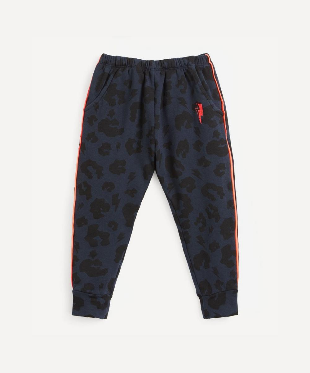 Scamp and Dude - Leopard and Lighting Bolt Joggers 1-9 Years