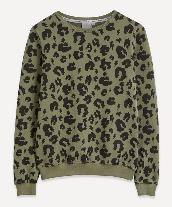 Scamp and Dude - Leopard Sweatshirt