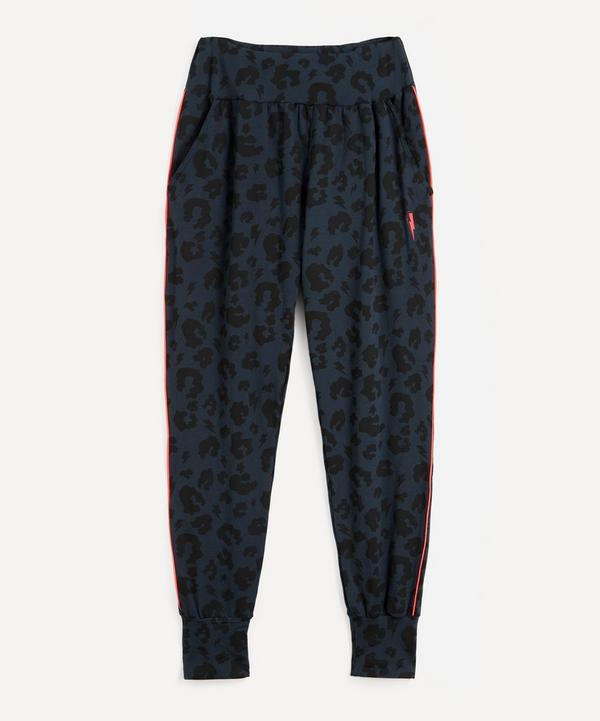 Scamp & Dude - Leopard and Lighting Bolt Slouch Joggers