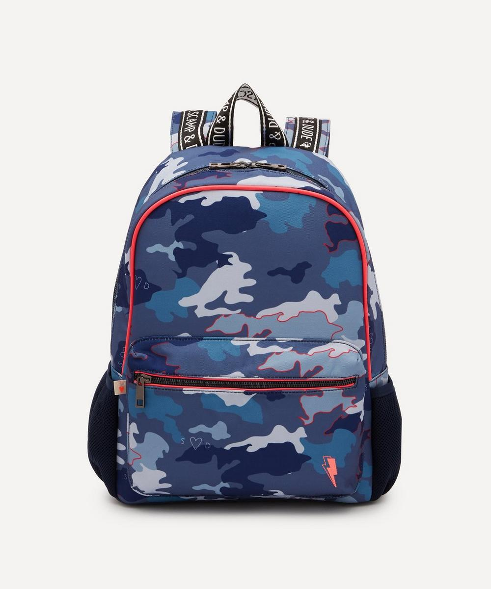 Scamp and Dude - Camo Print Supercharged Backpack