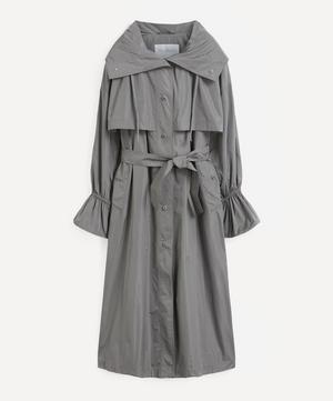 Water-Resistant Taffeta Parka Coat