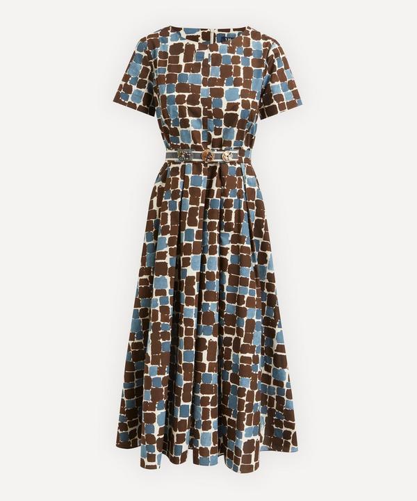 'S Max Mara - Printed Cotton Poplin Dress
