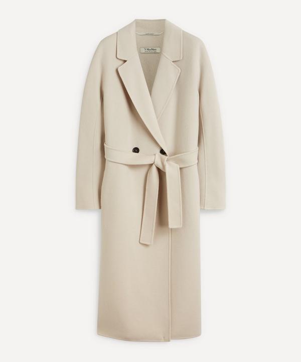 'S Max Mara - Double-Breasted Wool Coat