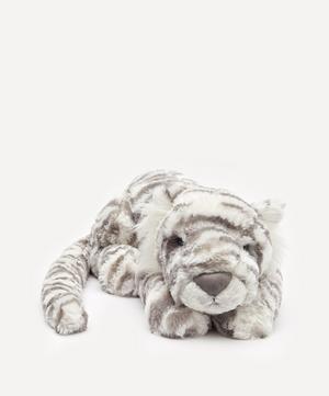 Sacha Snow Tiger Large Soft Toy