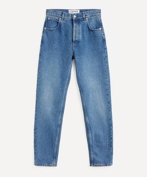 Anagram Logo Pocket Tapered Jeans