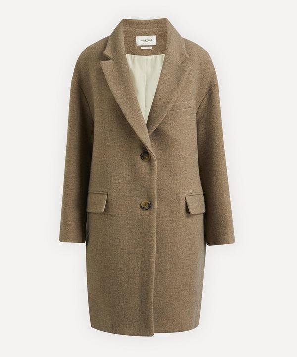 Isabel Marant Étoile - Limiza Lapel Mid-Length Coat