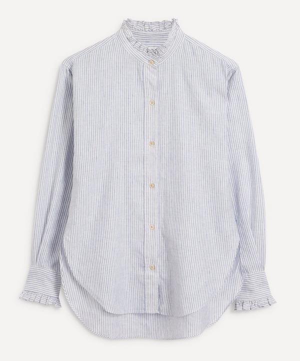 Isabel Marant Étoile - Saoli Puff-Sleeve Ruffle-Collar Shirt