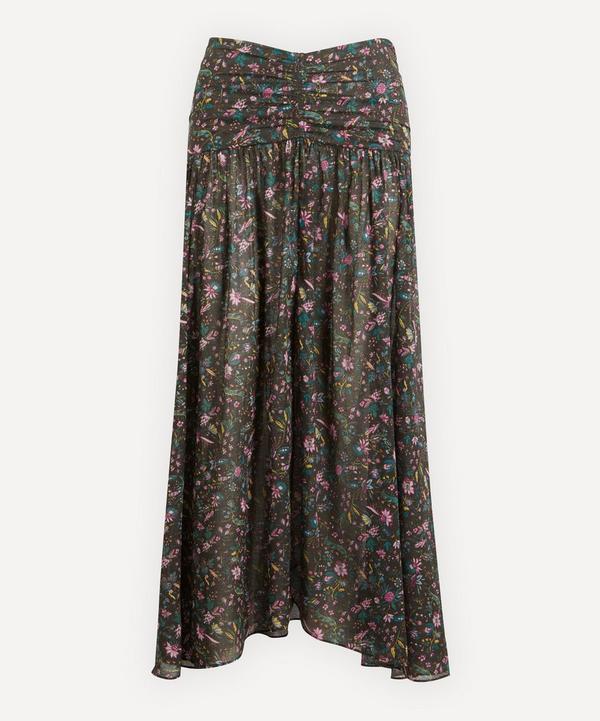 Isabel Marant Étoile - Marino Asymmetric Floral Midi-Skirt