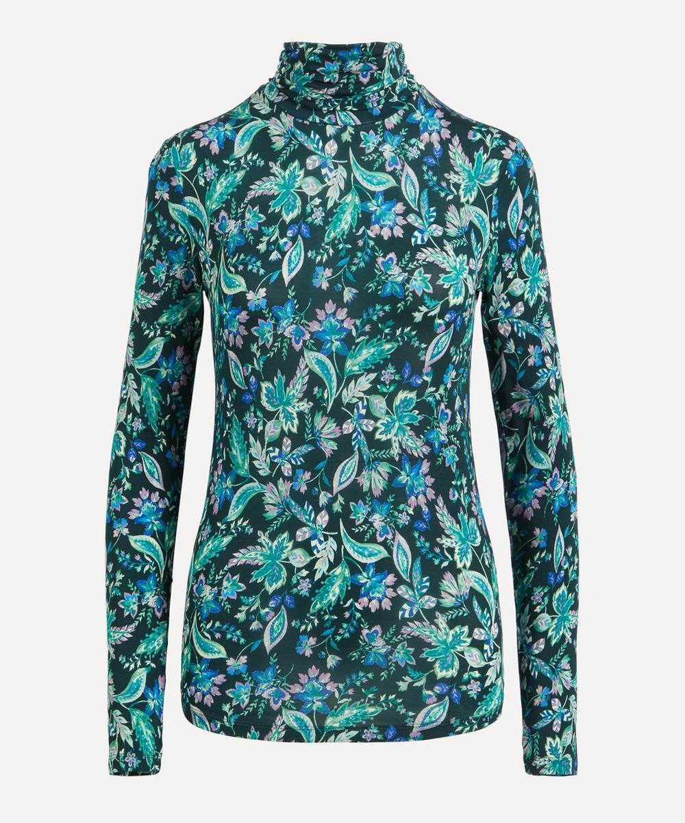 Isabel Marant Étoile - Jewel Floral Turtleneck Top