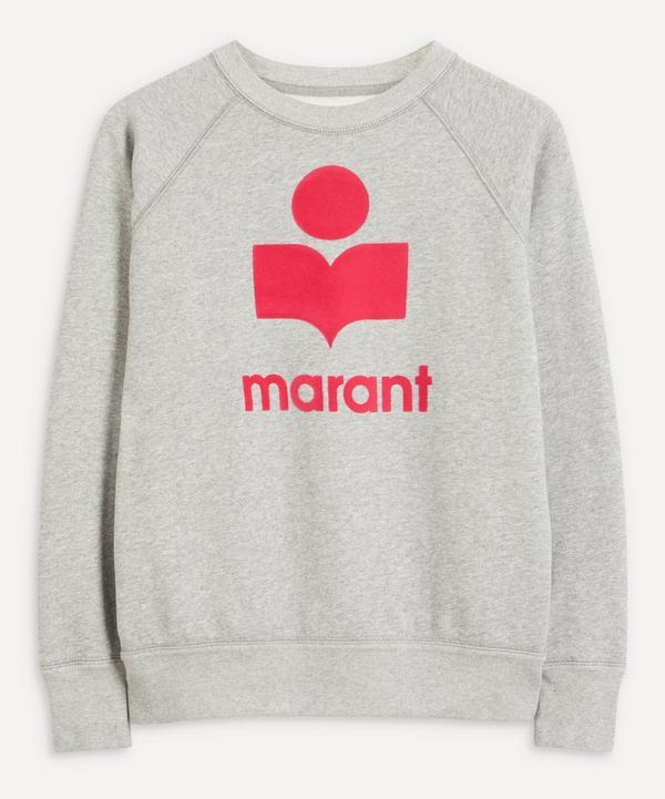 Isabel Marant Étoile - Milly XL Logo Crew-Neck Sweater