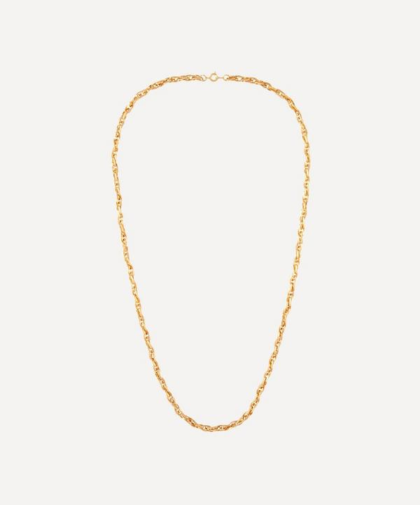 Susan Caplan Vintage - Gold-Plated 1990s Chain Necklace