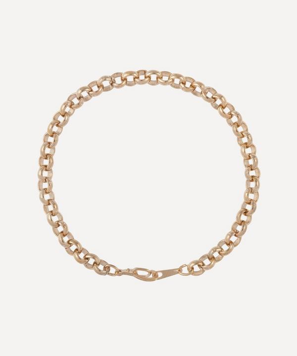 Susan Caplan Vintage - Gold-Plated 1990s Belcher Chain Bracelet