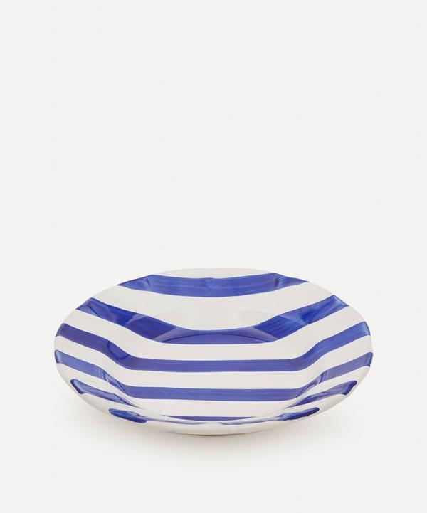 Popolo - Striped Pasta Plate