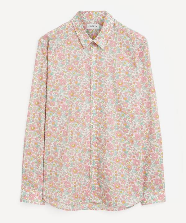 Liberty - Betsy Tana Lawn™ Cotton Lasenby Shirt