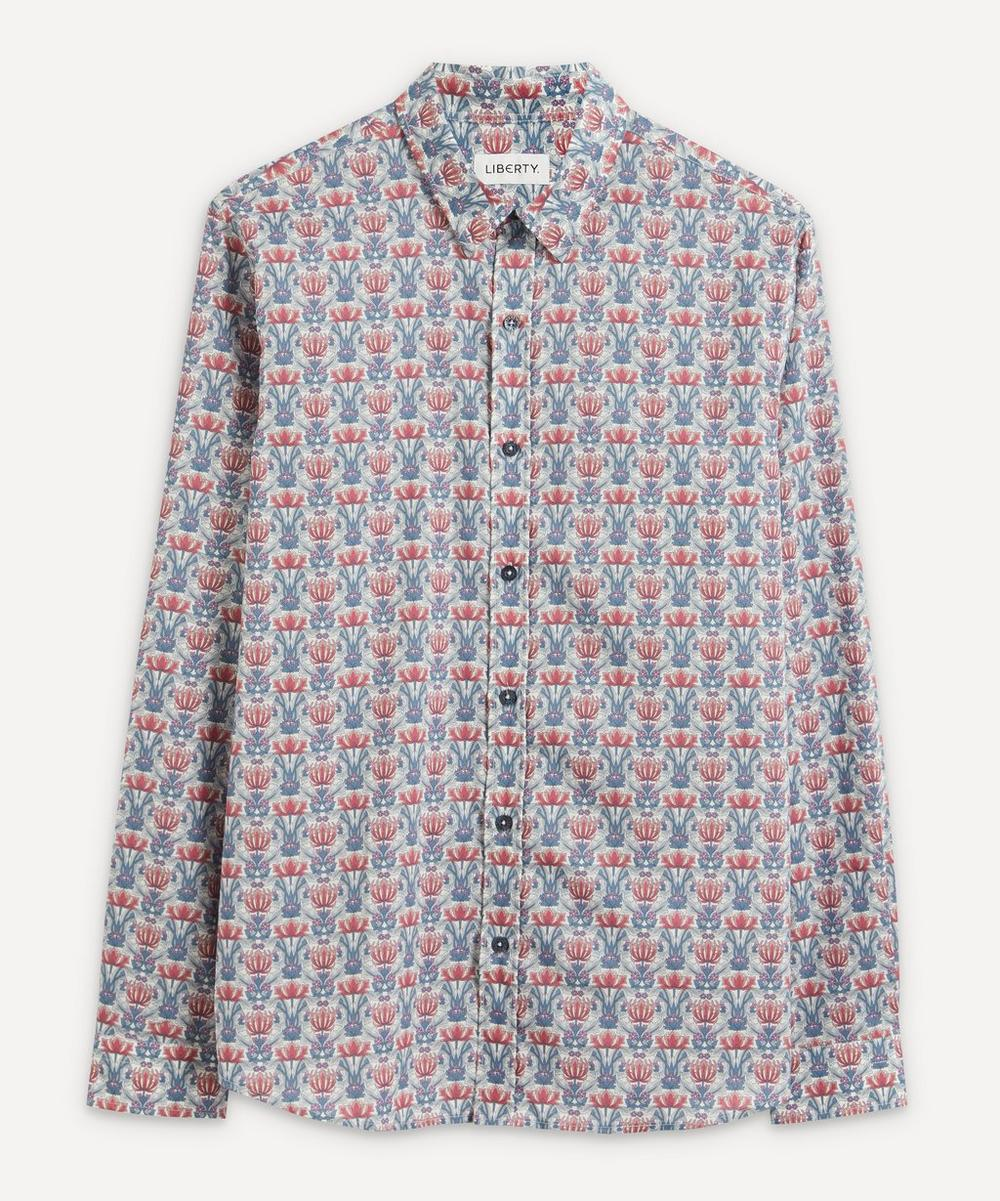 Liberty - Danuna Tana Lawn™ Cotton Casual Classic Slim Fit Shirt