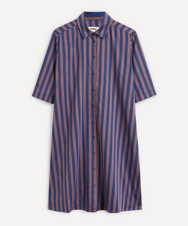 YMC - Jenny Stripe Shirt-Dress