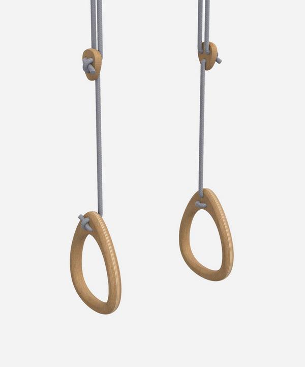 Lillagunga - Oak Gym Rings