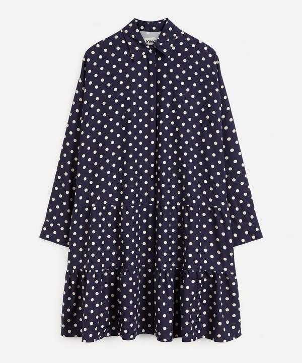 YMC - Luna Polka Dot Shirt Dress