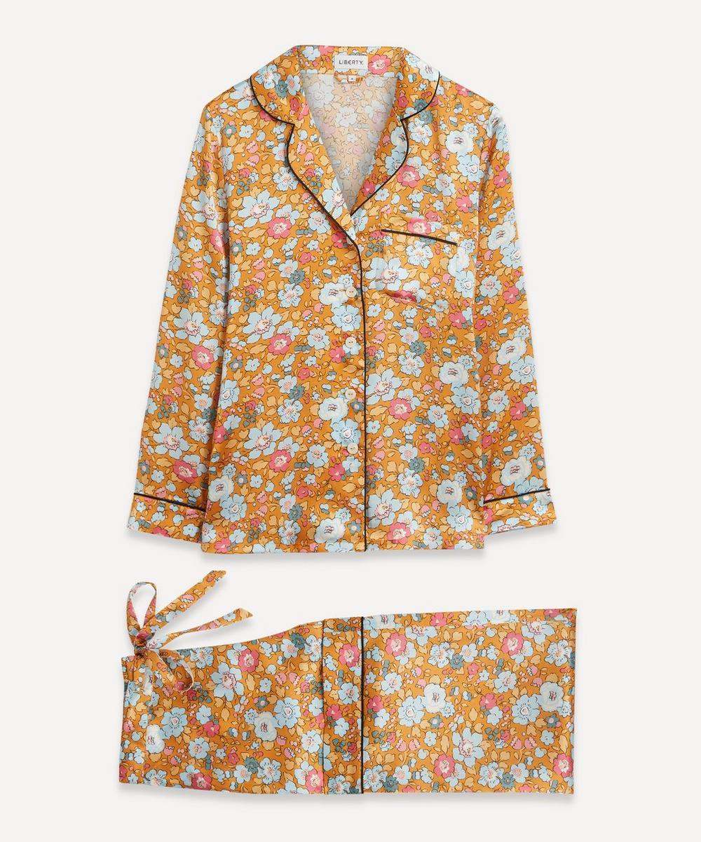 Liberty - Betsy Silk Satin Pyjama Set
