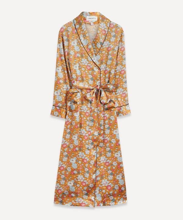 Liberty - Betsy Silk Satin Long Robe