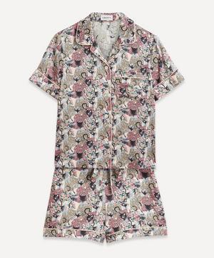 Cat's Pyjamas Silk Satin Short Pyjama Set