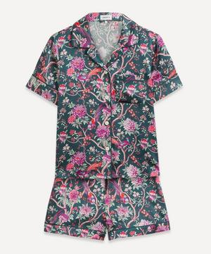 Elysian Paradise Silk Satin Short Pyjama Set