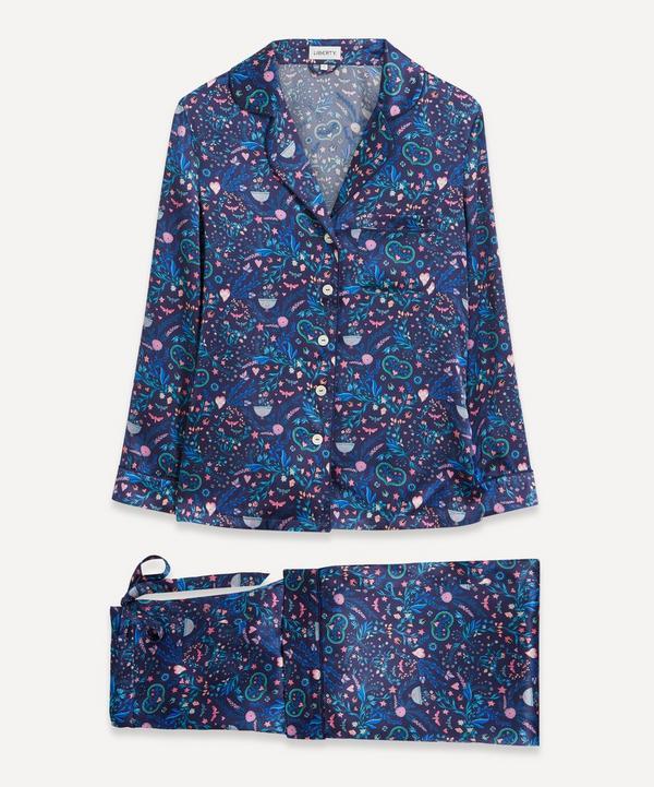 Liberty - Garden Party Silk Satin Pyjama Set