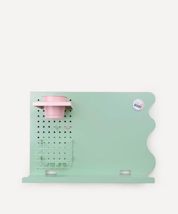 Peg & Board - Landscape Memo Board Set Mint Green