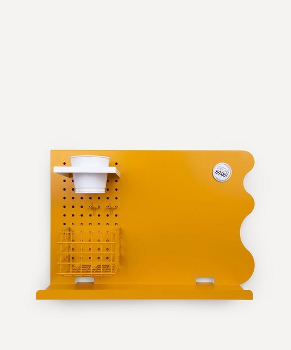 Peg & Board - Landscape Memo Board Set Mustard