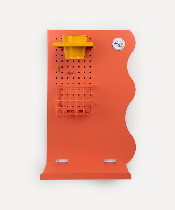 Peg & Board - Portrait Memo Board Set Coral