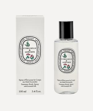 Limited Edition Citronelle & Geranium Body Spray 100ml
