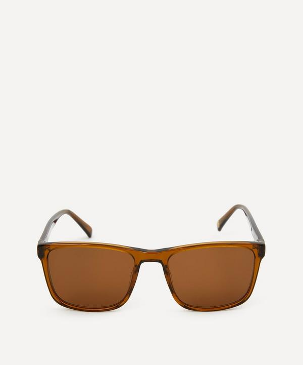YMC - Matti Bold Rectangle Sunglasses
