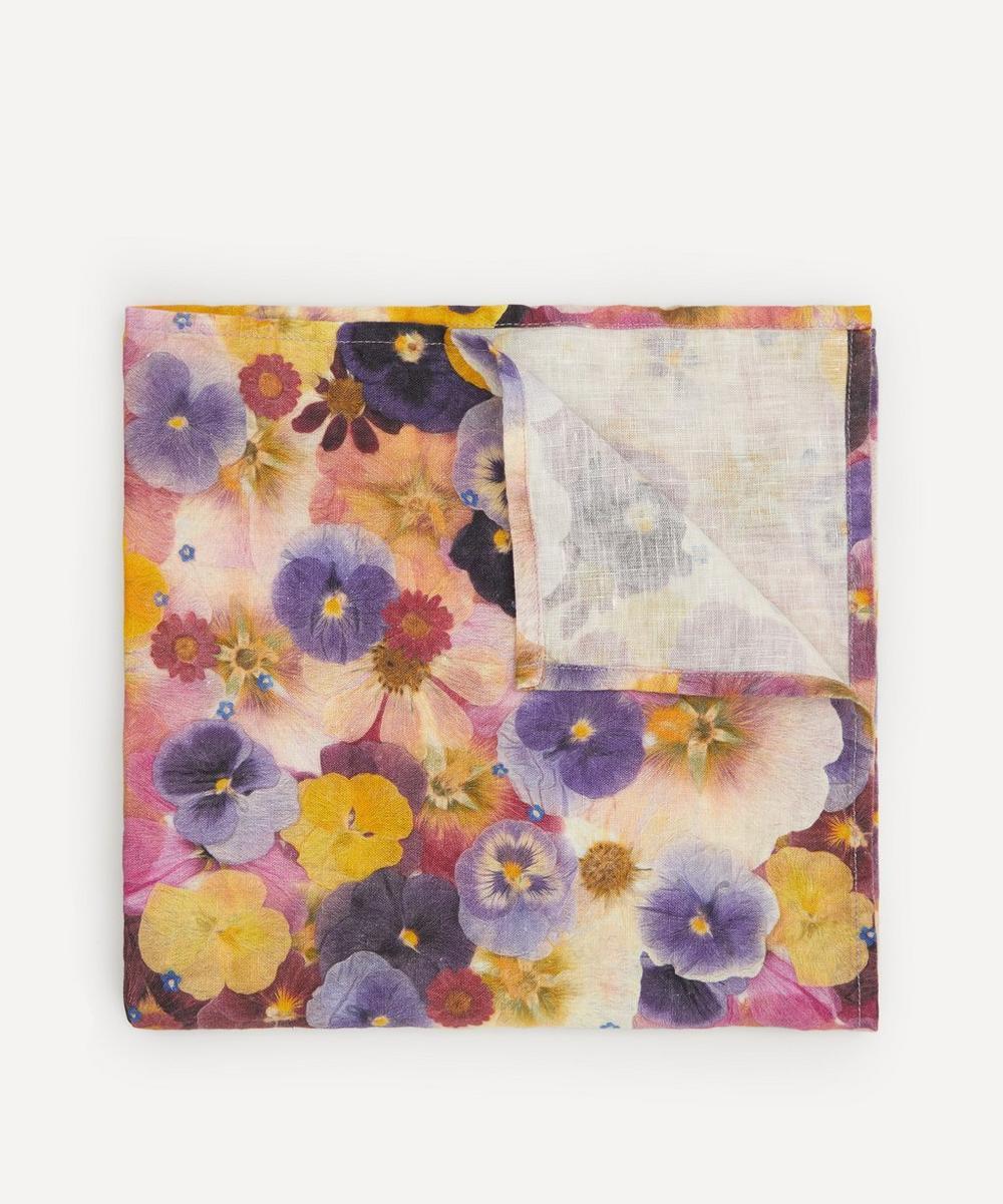 Summerill & Bishop - Marché aux Fleurs Linen Napkin