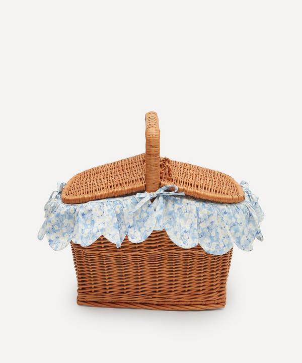 Coco & Wolf - Mitsi Rectangle Wicker Picnic Basket