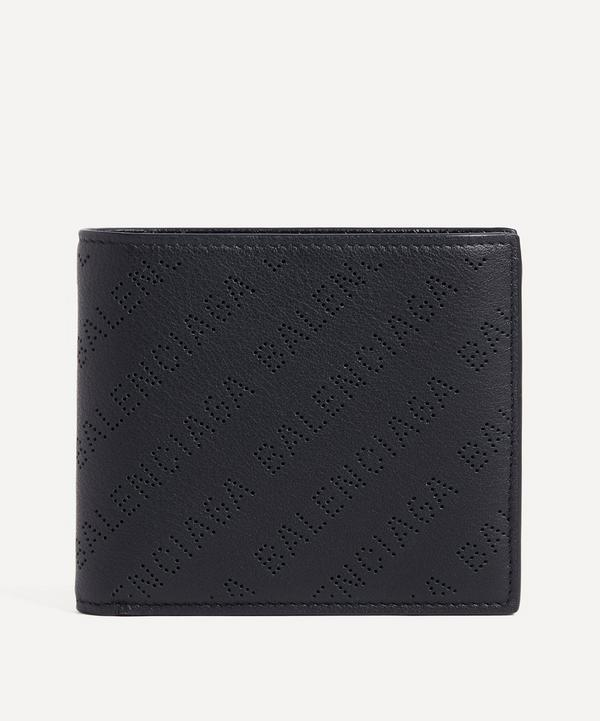 Balenciaga - Perforated Logo Bifold Wallet