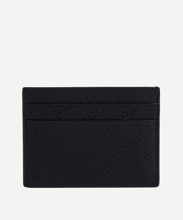 Balenciaga - Perforated Logo Card Case