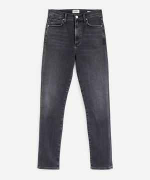 Olivia High-Rise Slim-Fit Jeans