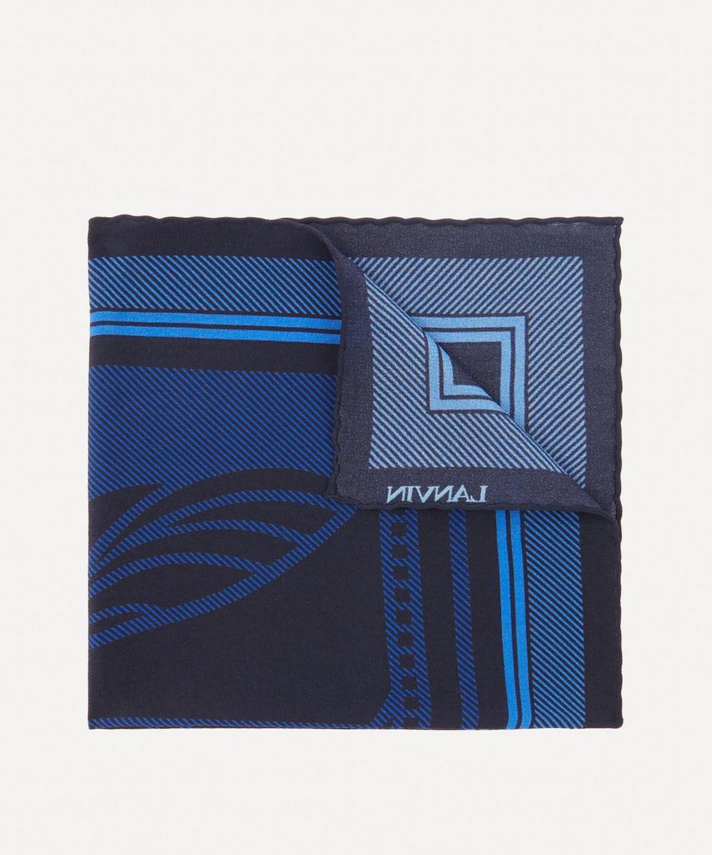 Paul Smith - Large Logo Pocket Square