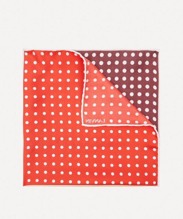Lanvin - Four Square Dot Pocket Square