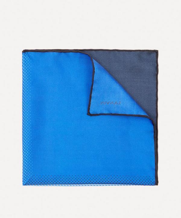 Lanvin - Faded Quad Pocket Square