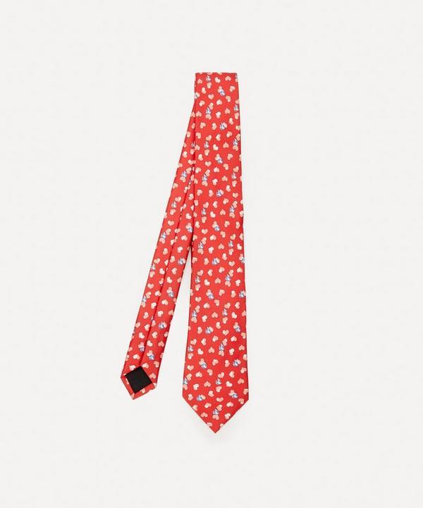 Lanvin - Heart Logo Silk Tie