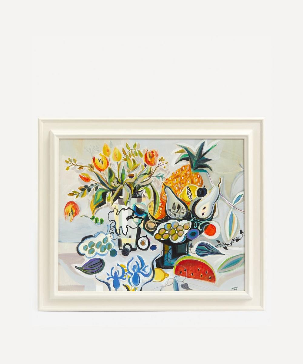 Marissa Weatherhead - Tropical Fruit Original Framed Painting
