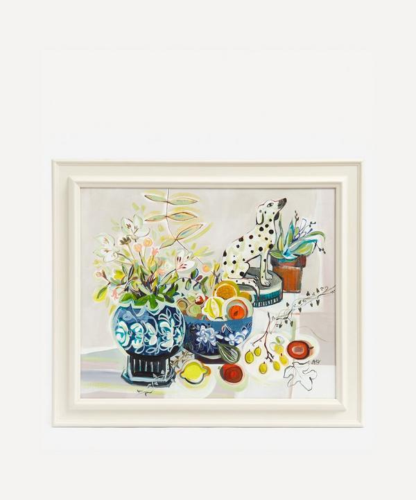 Marissa Weatherhead - Decorative Arabesque Original Framed Painting