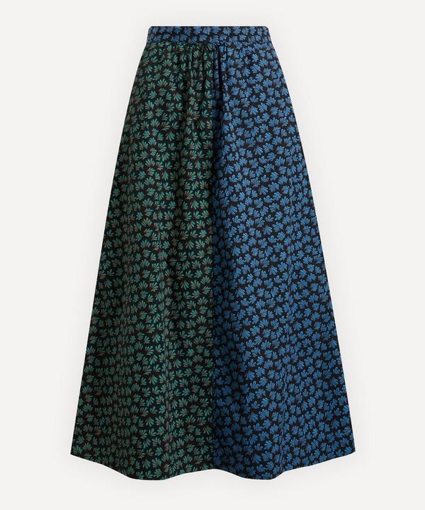 Wood Wood - Sonja Block-Print Midi-Skirt