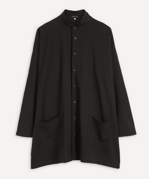 Eskandar - A-Line Shirt Jacket