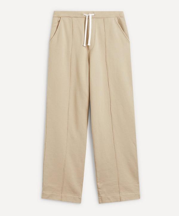 Officine Générale - Covy Front-Pleat Cotton Sweat Pants