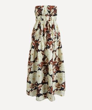 Vivienne Strapless Maxi-Dress