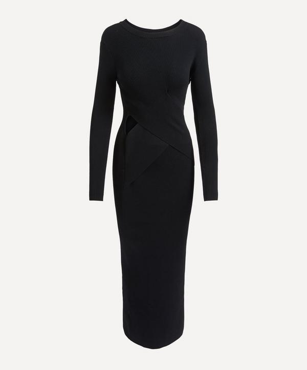 SIR - Celena Draped Midi-Dress